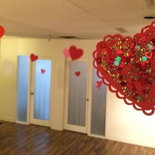 centre-space-Valentine's-decorations